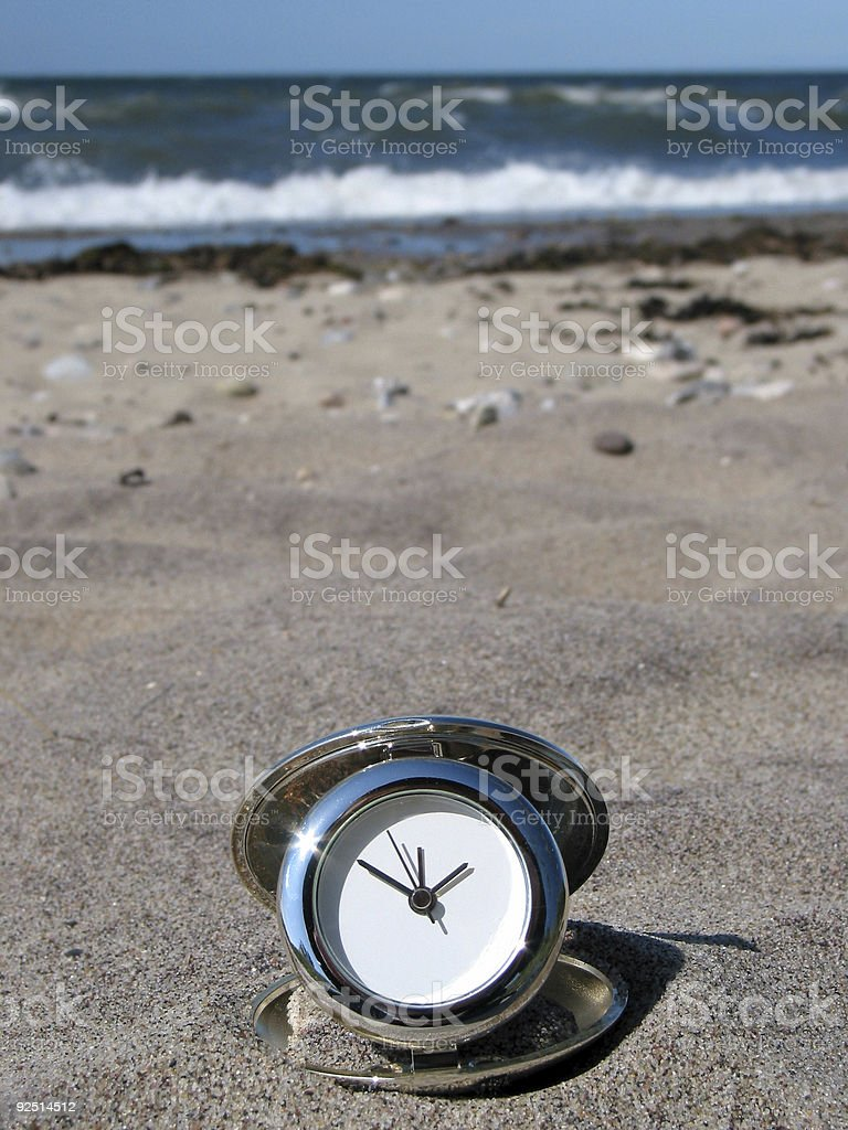 Beach-time! royalty-free stock photo