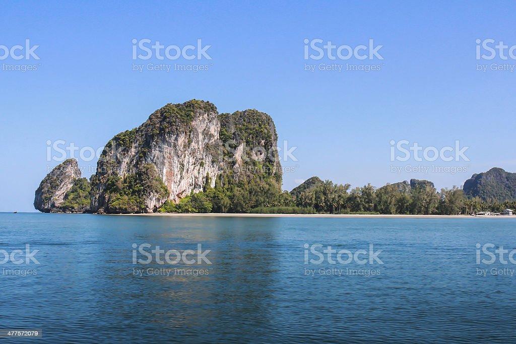 Beach,Trang, Thailand stock photo