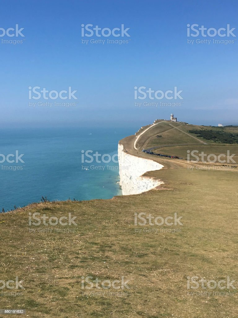 Beachy Head, East Sussex stock photo