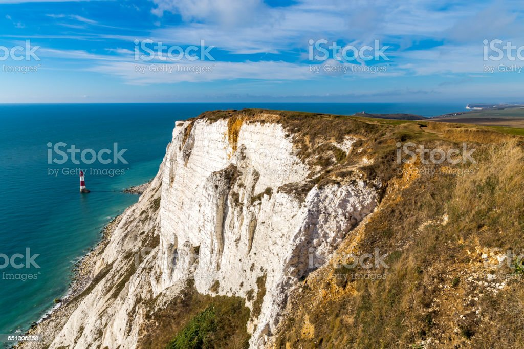 Beachy Head, East Sussex, UK stock photo