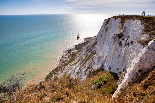 Beachy Head Lighthouse and Cliff