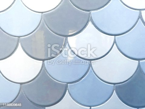 beachy tile pattern background close up