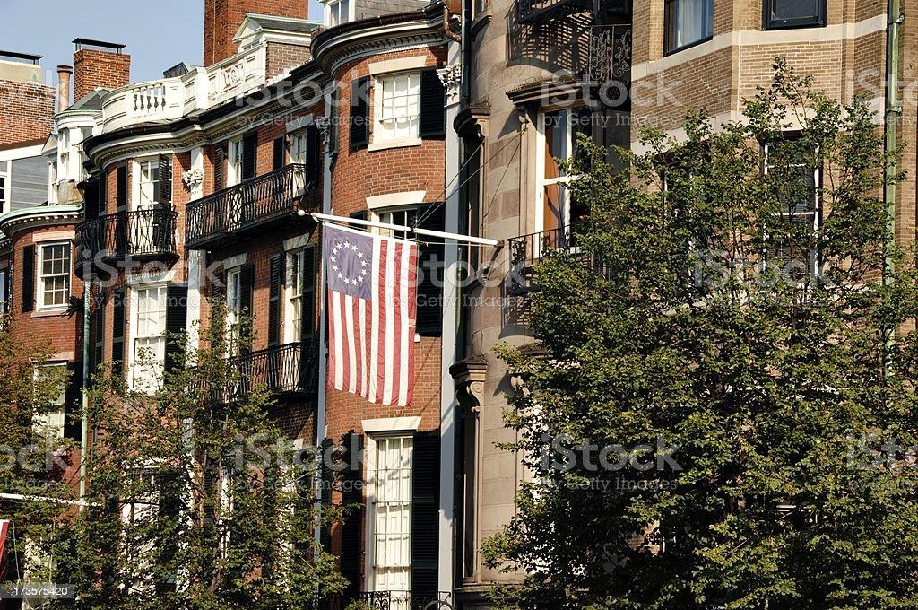 Beacon Hill Homes stock photo