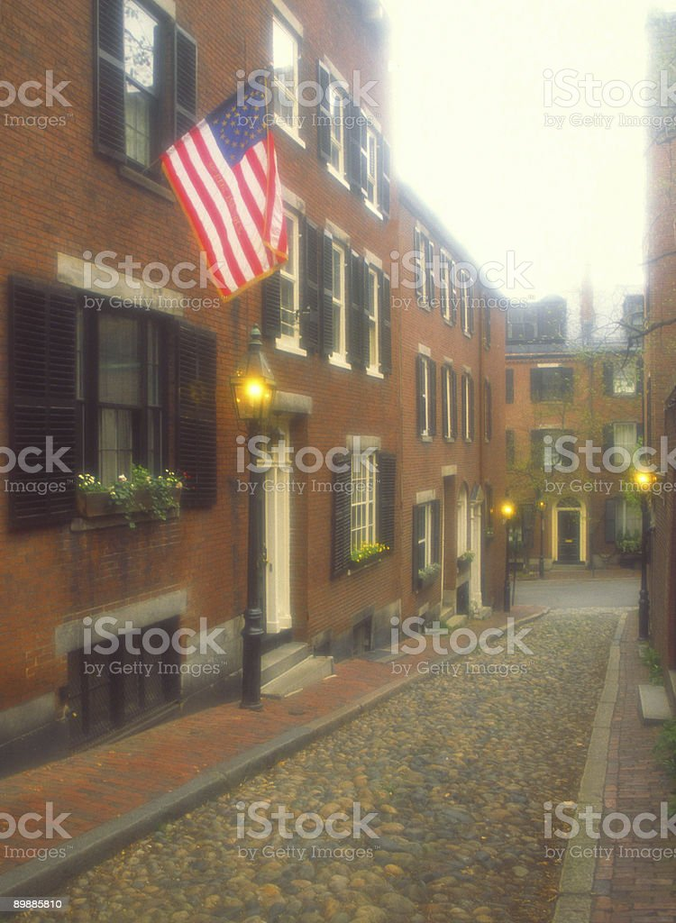 Beacon Hill royalty-free stock photo