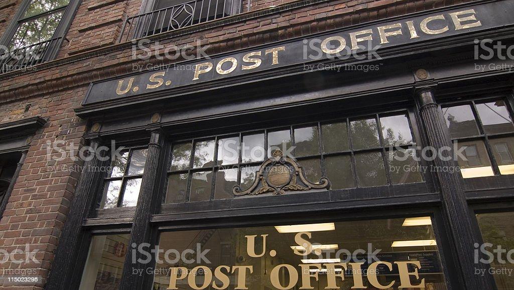 Beacon Hill Post Office stock photo