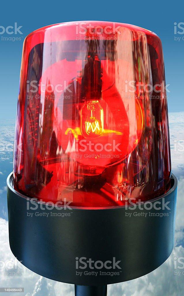 Beacon light royalty-free stock photo