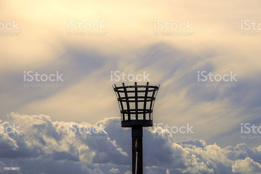 beacon royalty-free stock photo
