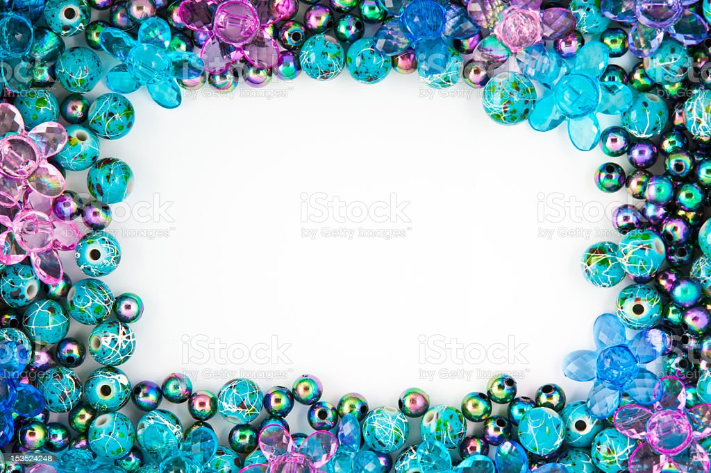 Bead Frame stock photo