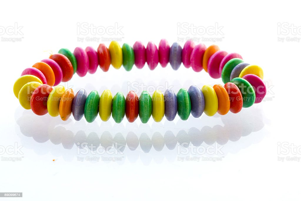Bead royalty-free stock photo