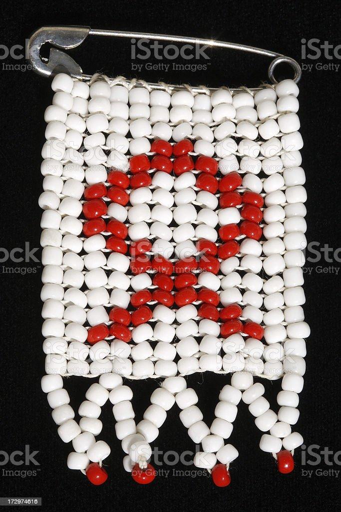 Beaded Aids symbol royalty-free stock photo