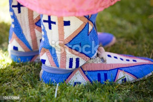 istock Beaded Moccasins 104472658