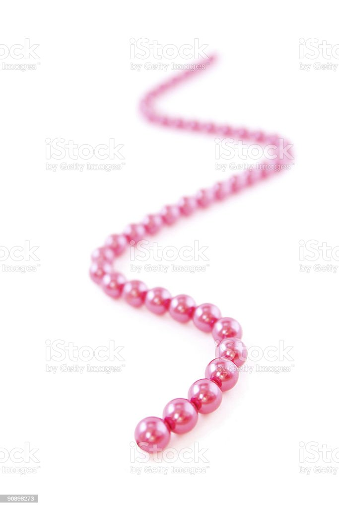 Beads royalty-free stock photo