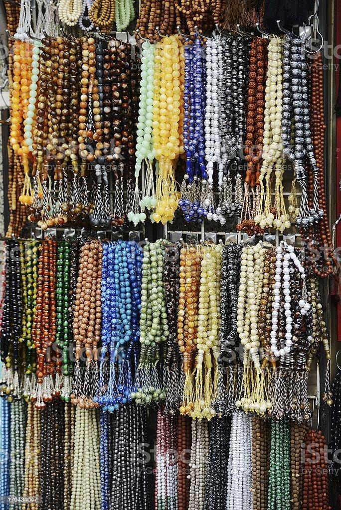 Beads shop royalty-free stock photo