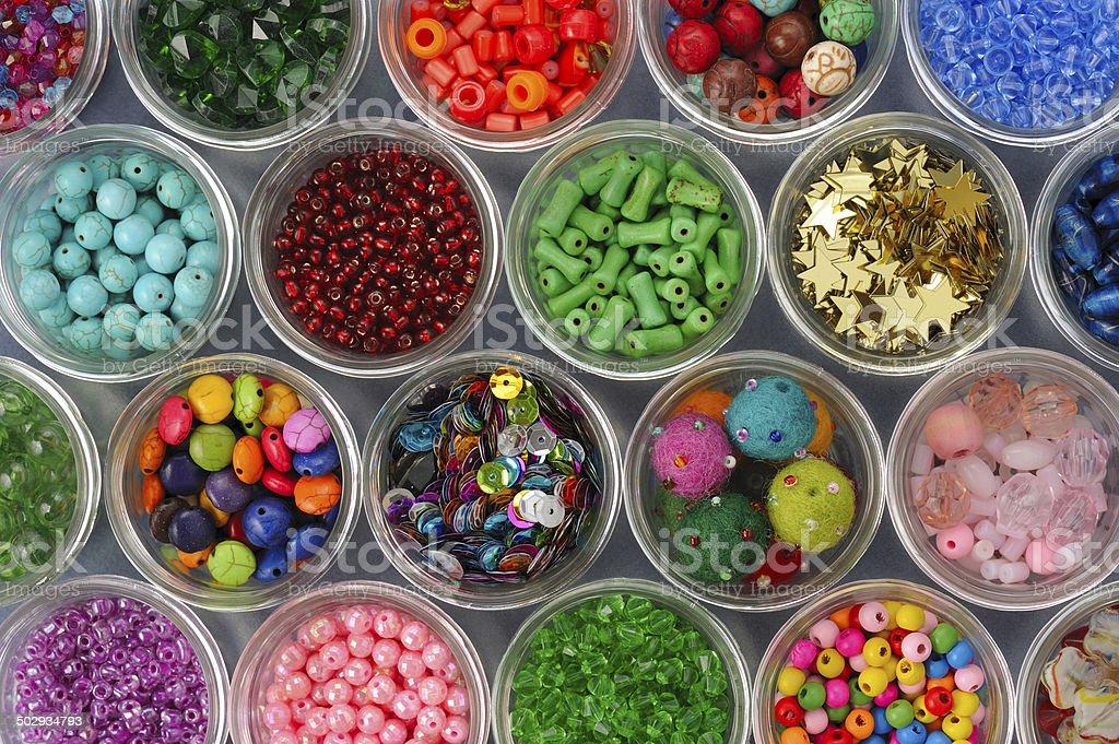 Beads Stock stock photo