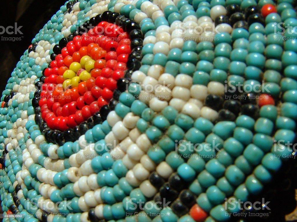 Beadwork stock photo
