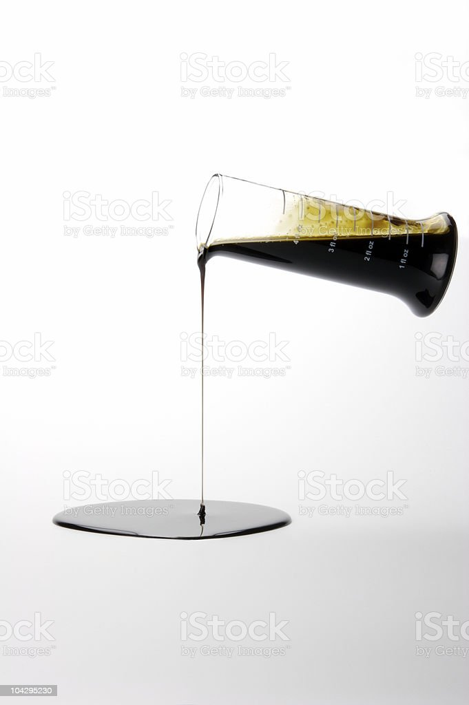 Beaker royalty-free stock photo