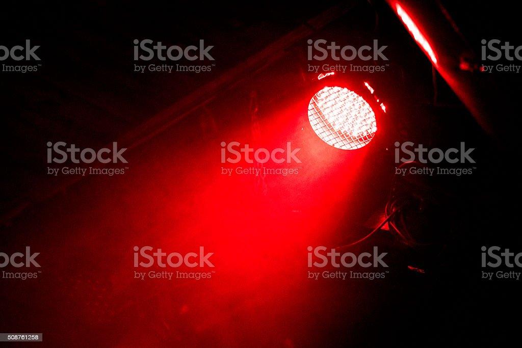 Beam of light stock photo