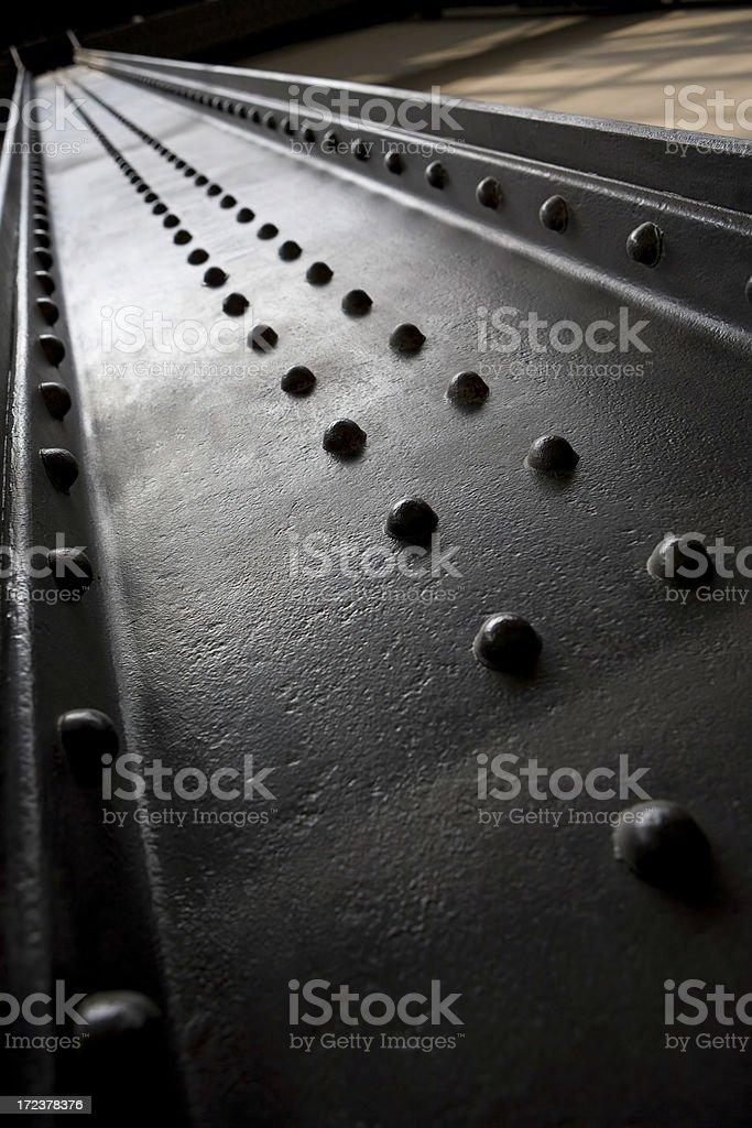beam rivet stock photo