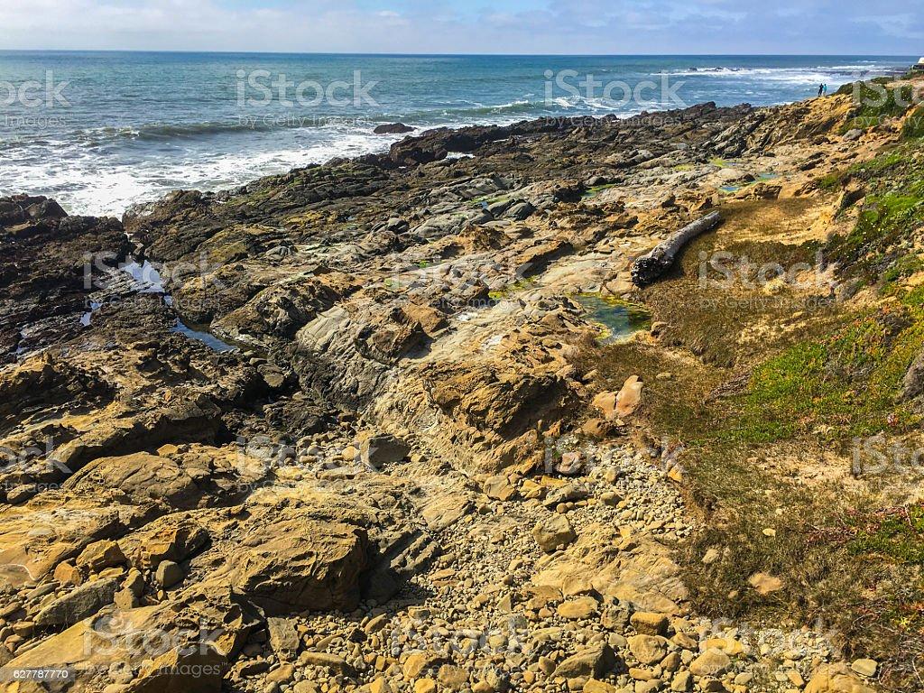 Bean Hollow State Beach stock photo