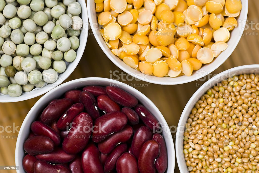 Beans assortment royalty-free stock photo
