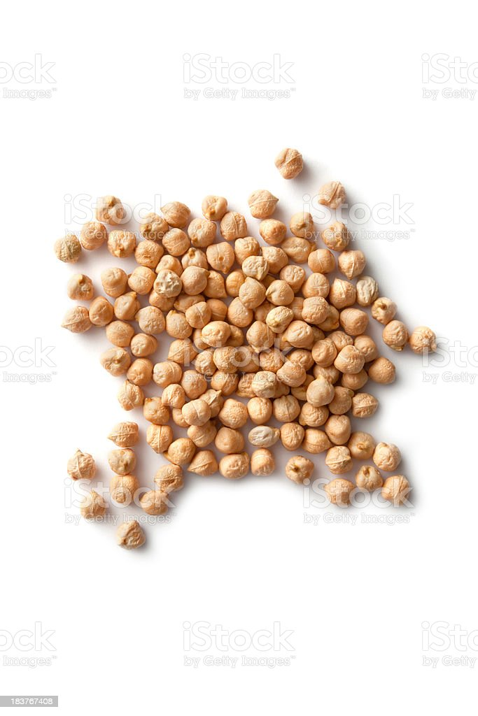 Beans: Chick-Pea royalty-free stock photo