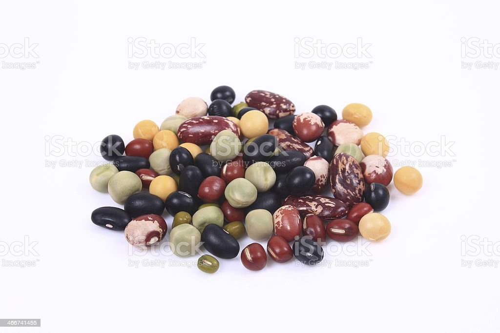 Beans group stock photo