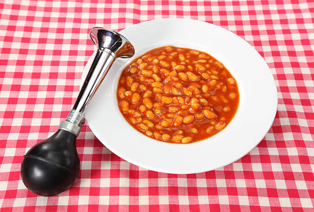 Beans, the musical fruit stock photo