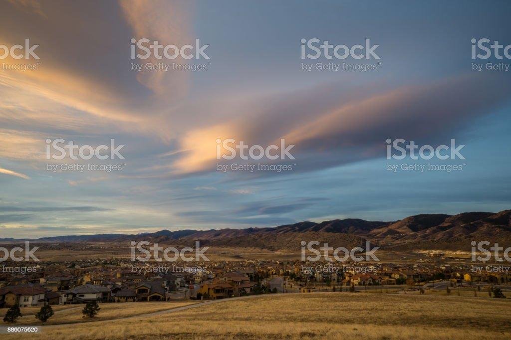Bear Creek - Lakewood, Colorado stock photo