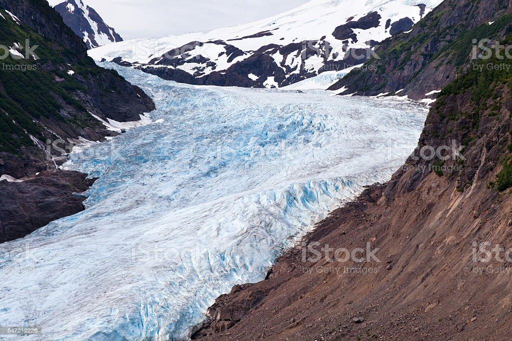 Bear Glacier stock photo