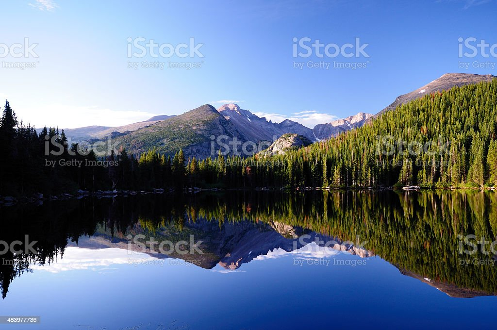 Bear lake stock photo