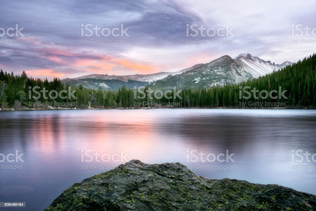 Bear Lake stock photo