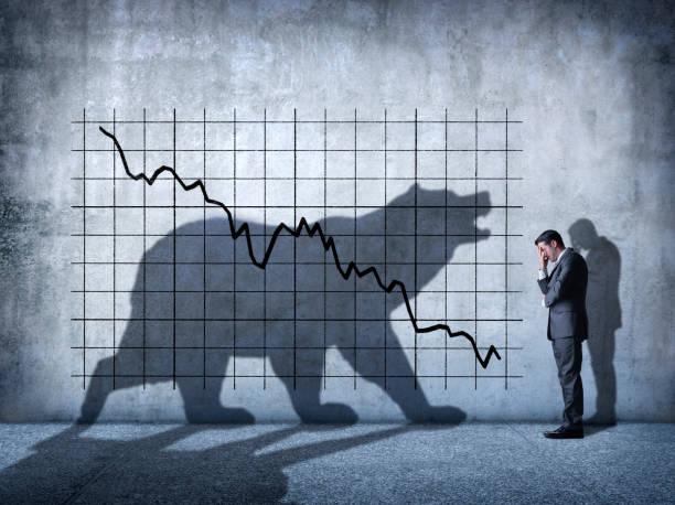 Bear Market stock photo