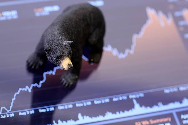 Cтоковое фото Медвежий рынок