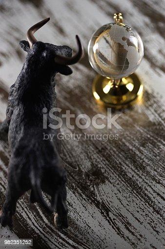shot of bear figurine silhouette