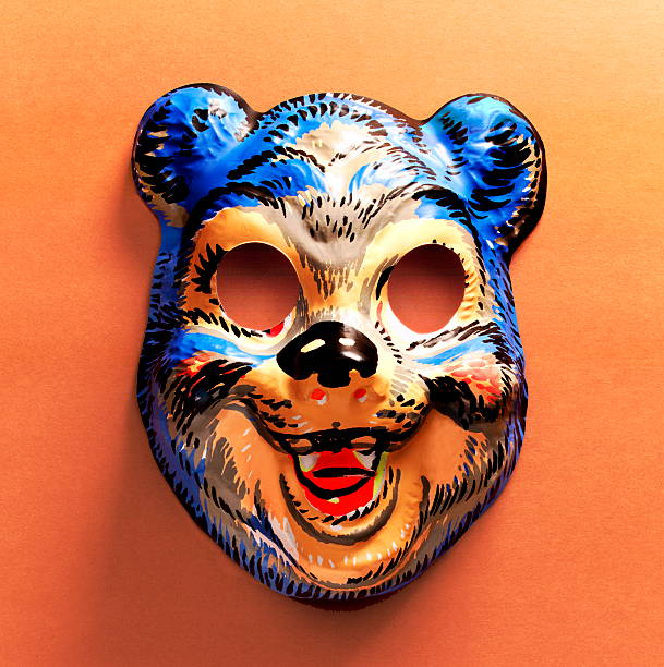 Bear Mask stock photo