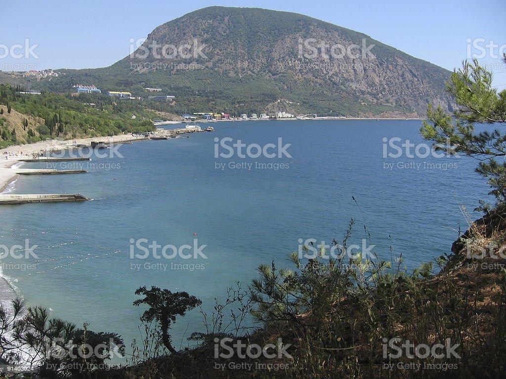 Bear mountain, Crimea, Ukraine royalty-free stock photo
