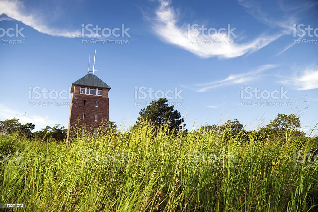 Bear Mountain Tower stock photo