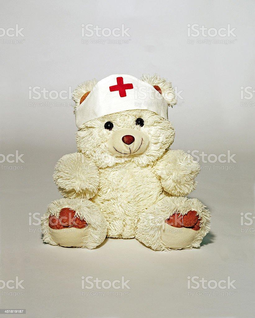 Bear nurse royalty-free stock photo