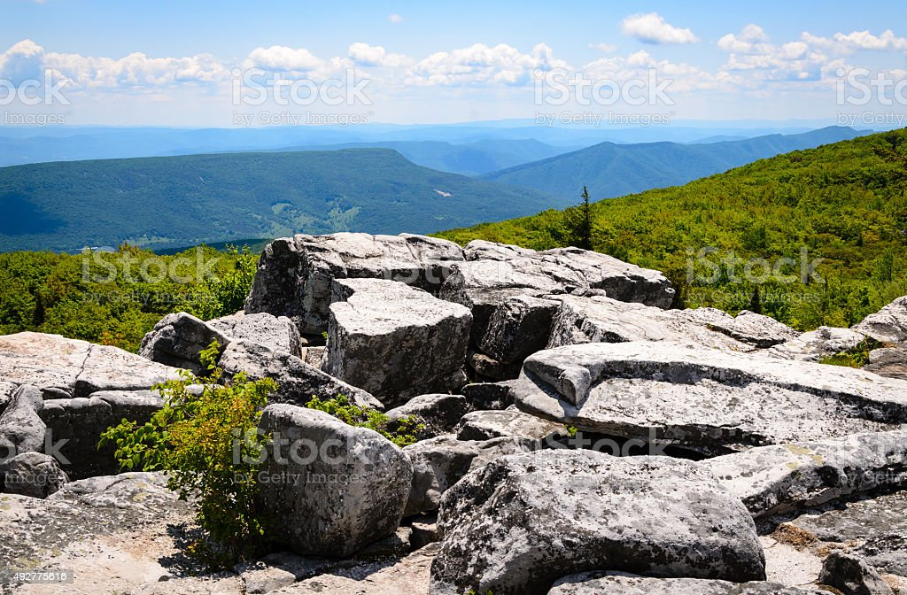Bear Rocks Preserve stock photo