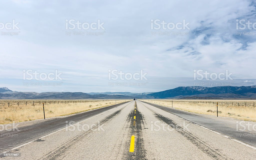 Bear Tooth Mountains Pass Highway, Montana, USA. stock photo