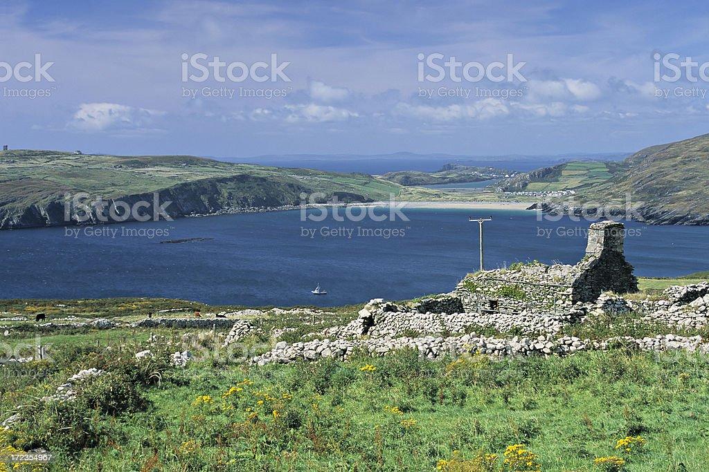 Beara Peninsula Scenic royalty-free stock photo