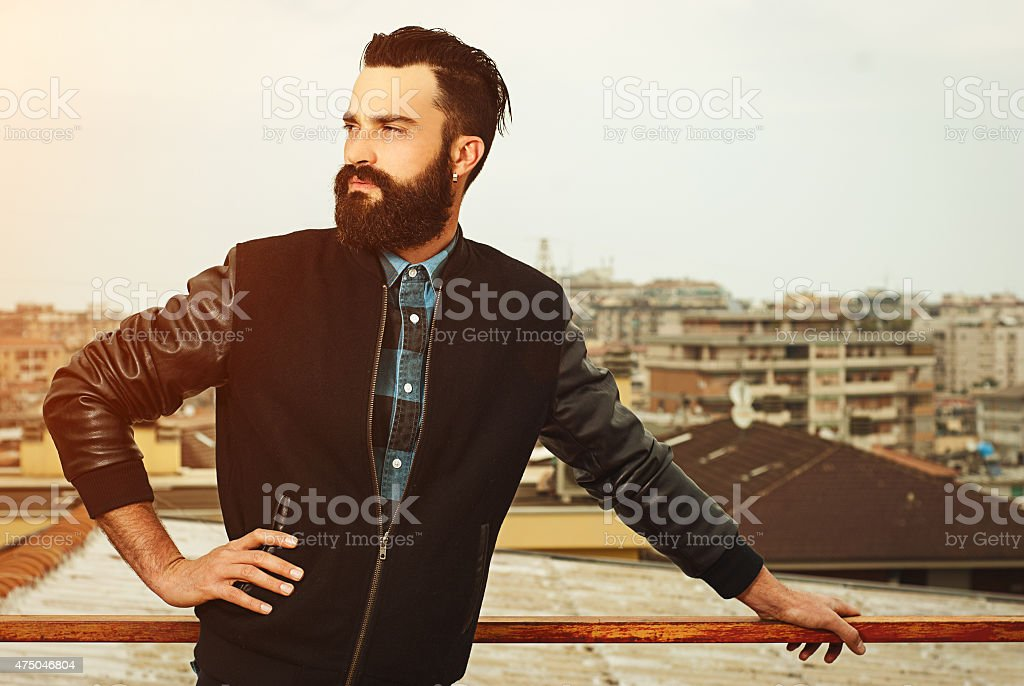 BART Mann Porträt – Foto