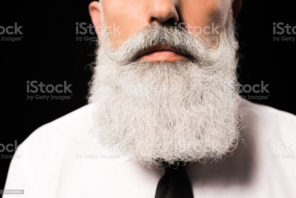 Beard stock photo