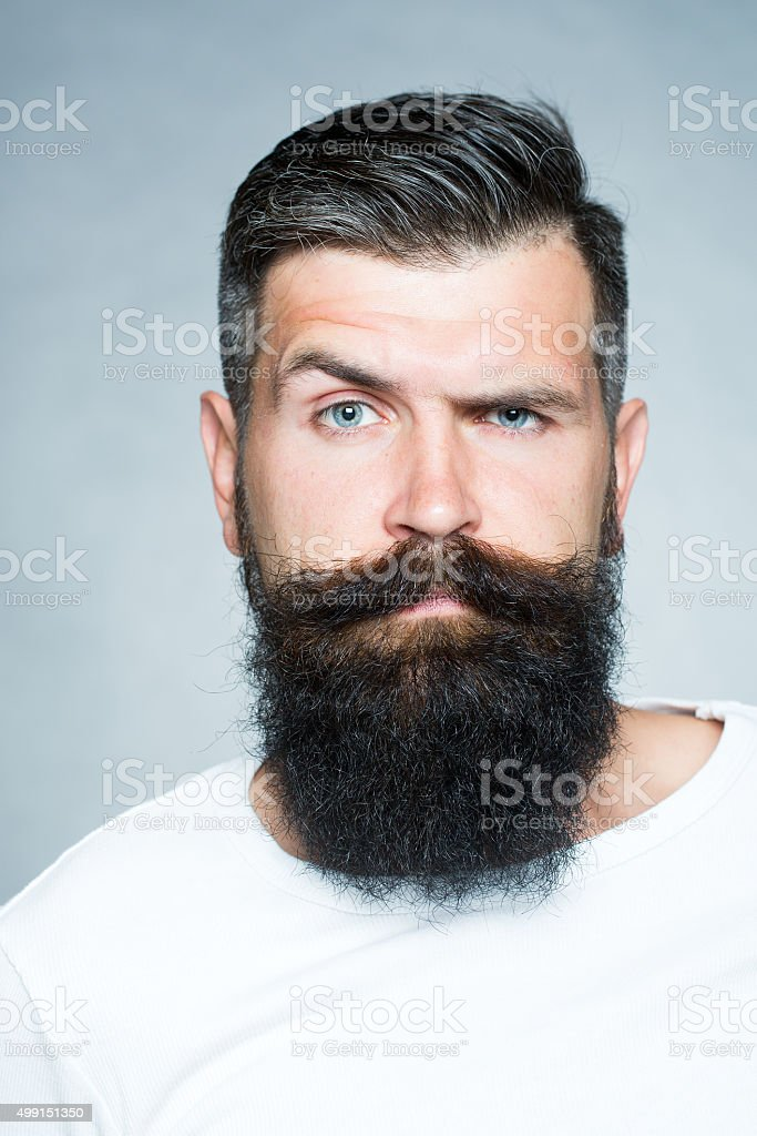 Mannequin barbe cheveux long