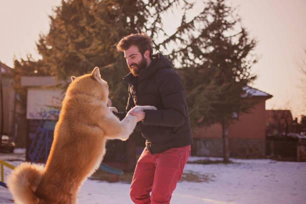 Bearded hipster guy playing with the dog picture id642052054?b=1&k=6&m=642052054&s=612x612&w=0&h=obu uaubsmnyzhfw7urlnk xnimrrwc5eodztgtpm4a=