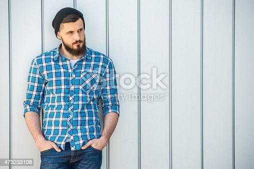 istock Bearded man 473233108