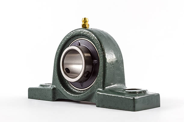Bearing unit. Ball bearing unit isolated on a white background. ball bearing stock pictures, royalty-free photos & images