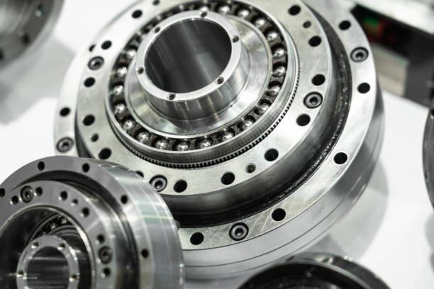 Bearings Close-up Bearings Close-up ball bearing stock pictures, royalty-free photos & images