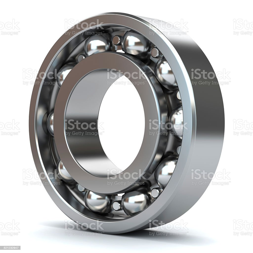 Bearings isolated stock photo