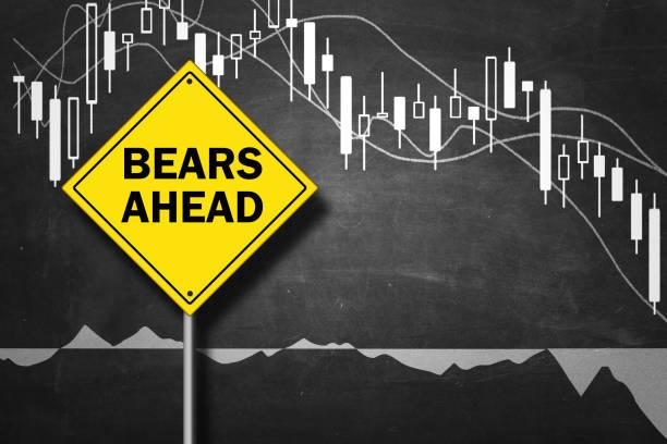 baisse - bär markt trend - börsencrash stock-fotos und bilder
